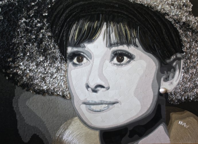 """""""Audrey"""" (110 CM X 150 CM)"""