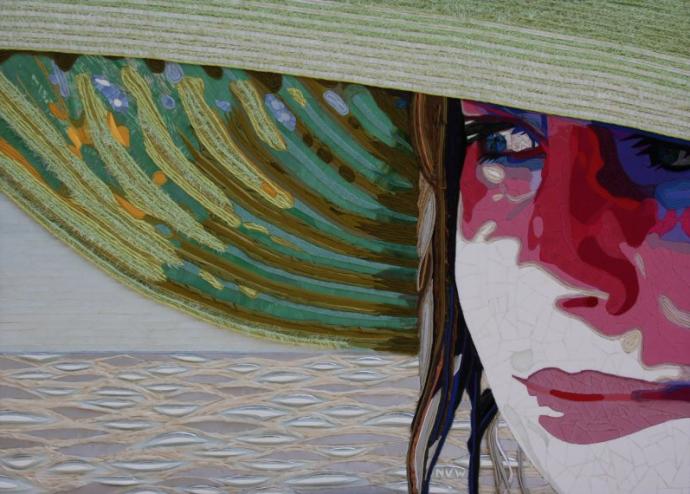 """""""Beach Girl"""" (140 CM X 100 CM)"""