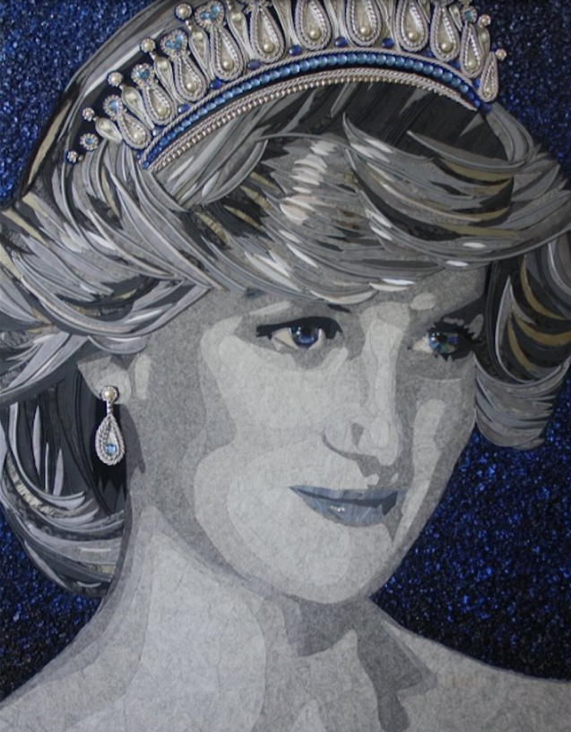 """""""Princess Diana"""" (135 CM X 97 CM)"""