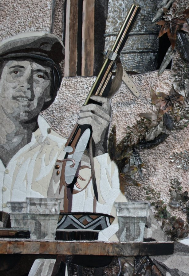 """Detail: Scene """"The Godfather"""""""